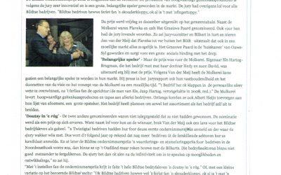 De Molkerei wint eerst Bildtse Ondernemersprijs